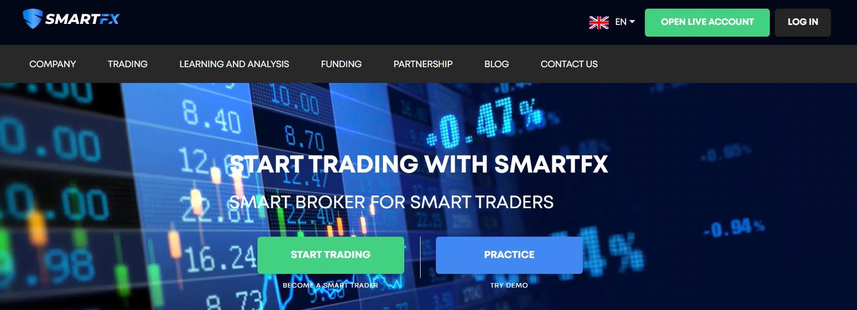 SmartFX – СКАМ или честный брокер? Отзывы про вывод