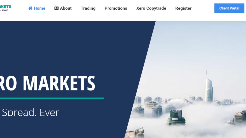 Отзывы 2021 о Xero Markets – фальшивка или реальный брокер?