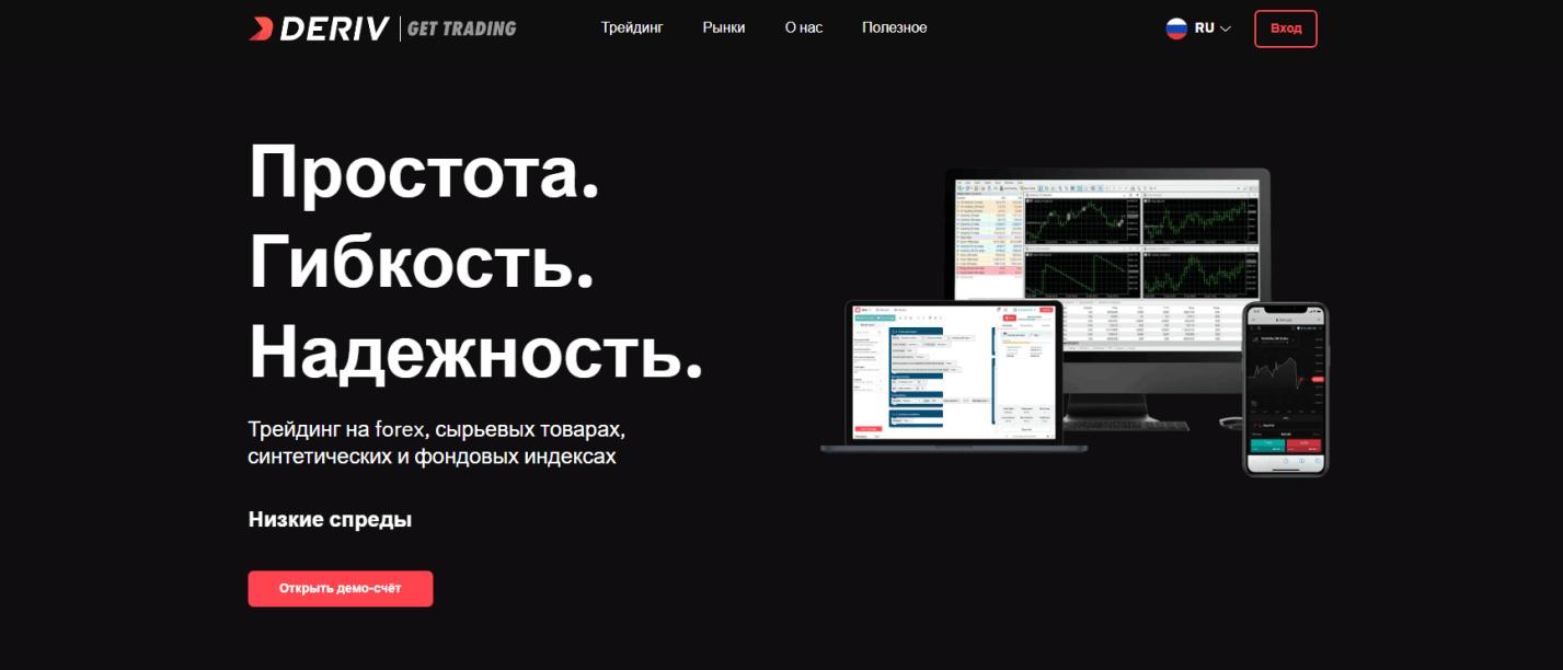 Мошенник бинарных опционов Deriv – отзывы от обманутых!