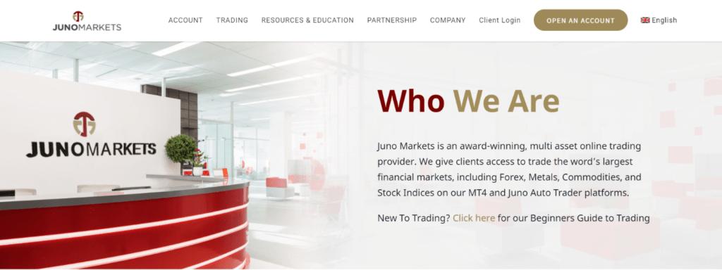 juno markets отзывы и обзор компании